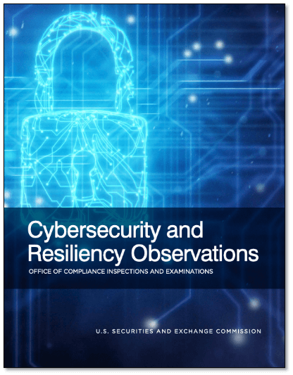 SEC OCIE Cybersecurity and Resiliency Observations